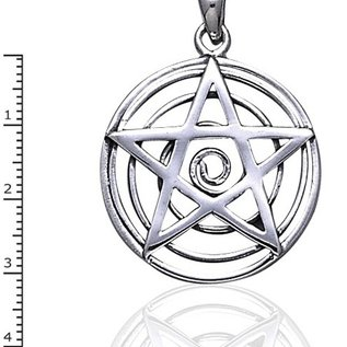 Hex Spiral Pentacle