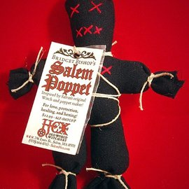 Hex Bridget Bishop's Black Salem Poppet