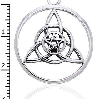 Hex Encircled Druid's Amulet