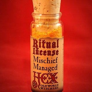 Hex Mischief Managed Ritual Incense