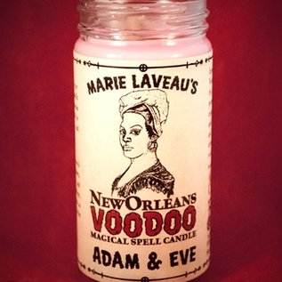 Hex Adam and Eve - Marie Laveau's New Orleans Voodoo Spell Candle