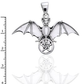 Hex Flying Bat with Pentacle