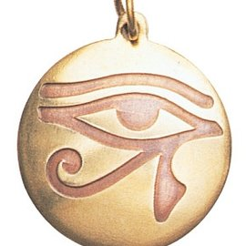 Hex Eye of Horus Charm Pendant for Health, Strength, & Vigour