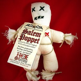 Hex Bridget Bishop's White Salem Poppet