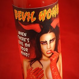 Hex Devil Woman 7-Day Candle