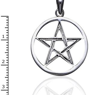 Hex Large Open Pentacle
