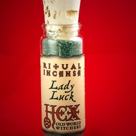 Hex Lady Luck Ritual Incense