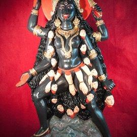 Hex Kali Dancing Statue