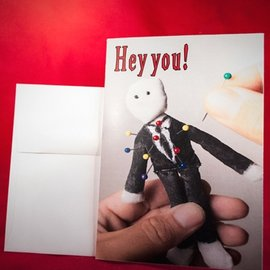 Hex Greeting Card - Stick It!