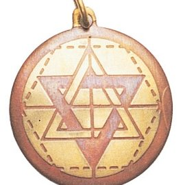 Hex Star of Solomon Charm Pendant for Wisdom, Intuition, & Understanding