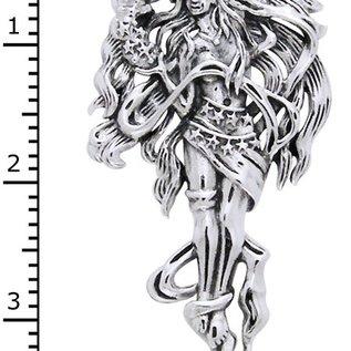 Hex Celestial Moon Goddess Pendant
