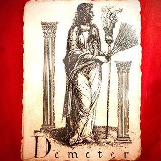 Hex Demeter Placque