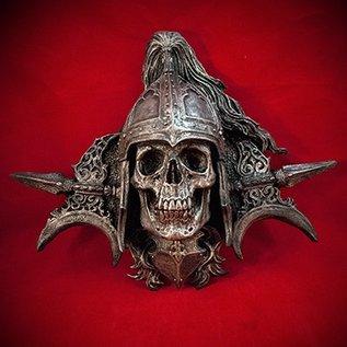 Hex Totentanz Knight Wall Plaque in Silver Finish