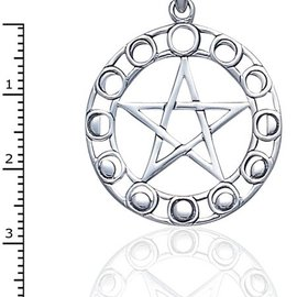Hex Phases of the Moon Pentacle