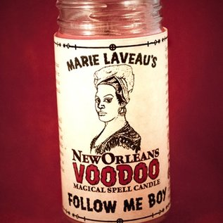 Hex Follow Me Boy - Marie Laveau's New Orleans Voodoo Spell Candle