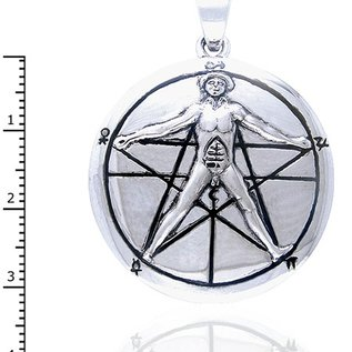 Hex Vitruvian Man Pendant