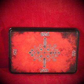 Hex Papa Legba Veve Pendulum Board