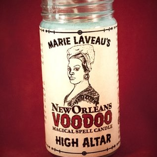 Hex High Altar - Marie Laveau's New Orleans Voodoo Spell Candle