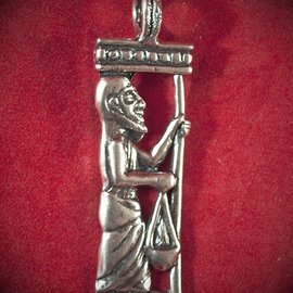 Hex Obatala in Silver