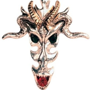 Hex Dragon Skull Pendant: Wealth & Riches