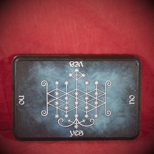 Hex Ogoun Veve Pendulum Board