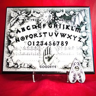 Hex Sabrina The Ink Witch Spirit Board in White Finish
