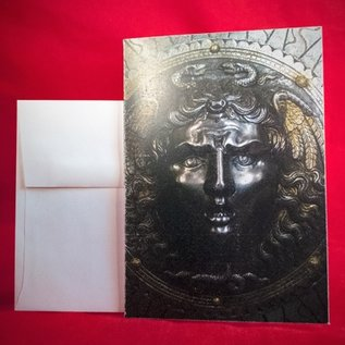 Hex Greeting Card - Medusa
