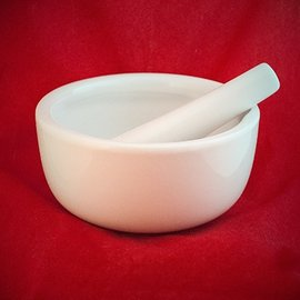 Hex Large Mortar and Pestle 6 inch