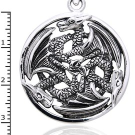 Hex 3 Dragons Pendant