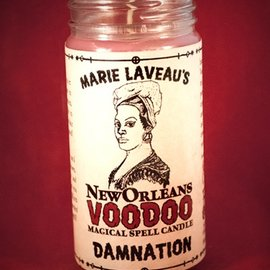 Hex Damnation - Marie Laveau's New Orleans Voodoo Spell Candle