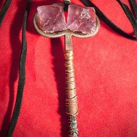 Hex Key Pendant with Flourite