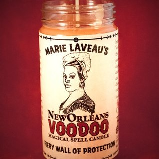 Hex Fiery Wall of Protection New Orleans Voodoo Spell Candle