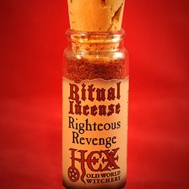 Hex Righteous Revenge Ritual Incense
