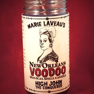 Hex High John the Conquerer - Marie Laveau's New Orleans Voodoo Spell Candle