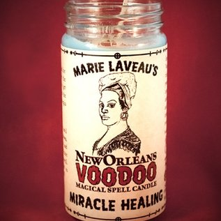 Hex Miracle Healing - Marie Laveau's New Orleans Voodoo Spell Candle