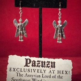 Hex Pazuzu Earrings
