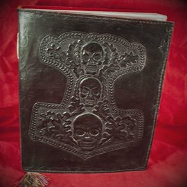 Hex Small Mjolnir Journal in Black