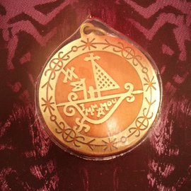 Hex Protection on Journeys Voodoo Charm Pendant