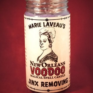 Hex Jinx Removing - Marie Laveau's New Orleans Voodoo Spell Candle