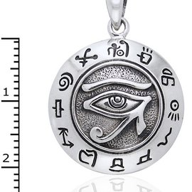 Hex Eye of Horus Pendant