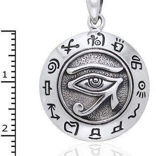 Hex Eye of Horus Pendant