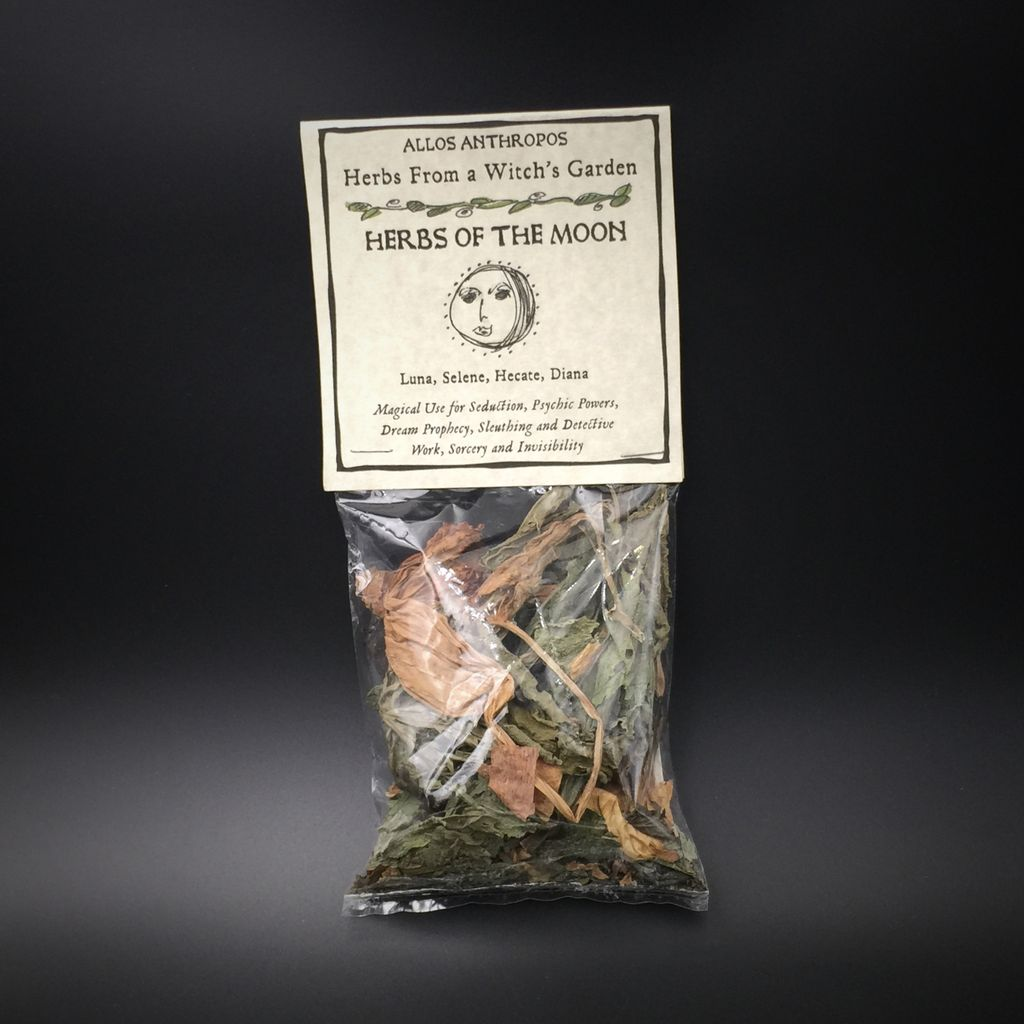 Hex Herbs of the Moon — Herbs from a Witch's Garden