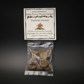 Hex Patchouli Incense — Herbs from a Witch's Garden