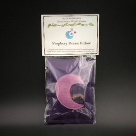 Hex Prophesy Dream Pillow — Herbs from a Witch's Garden