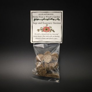 Hex Sage and Rosemary Incense — Herbs from a Witch's Garden