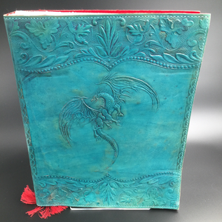 OMEN Large Flying Dragon Journal in Blue