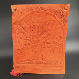 OMEN Large Tree of Life Journal in Orange
