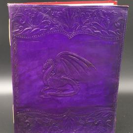 OMEN Large Dragon Journal in Purple