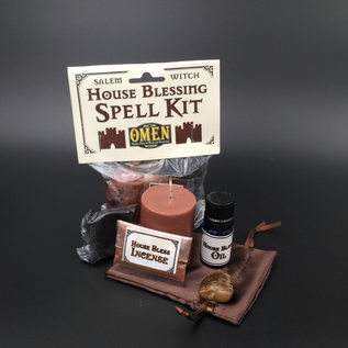 OMEN Salem Witch House Blessing Spell Kit