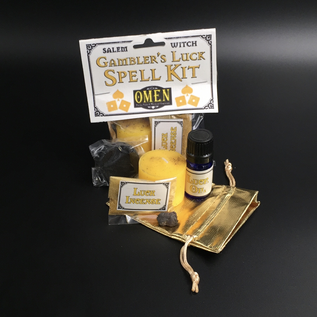 OMEN Salem Witch Gambler's Luck Spell Kit